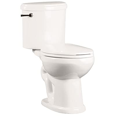 "Mirabelle MIRPR200 Provincetown 1.28 GPF Toilet Tank Only with 12"" Rough In - Le,"