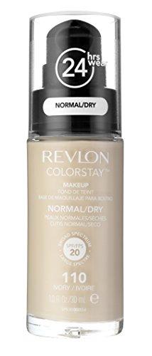 Revlon ColorStay Makeup Foundation für normale bis trockene Haut SPF15 #110 Ivory 30ml