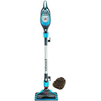 1683A Bissell Trilogy Superlight Hard Floor Vacuum (Complete Set) w/ Bonus: Premium Microfiber Cleaner Bundle