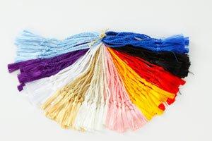 tassel-depot-2-inch-floss-bookmark-tassel-with-4-inch-cord-loop-100-piece-classic-assortment