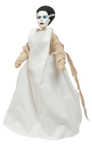 Bride of Frankenstein Universal Studios Monsters 8-Inch Action Figure with Cloth Costume 2012 - The Bride Of Frankenstein Costumes