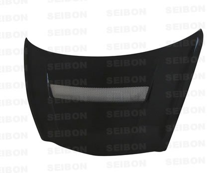 SEIBON 07-08 Honda Fit Carbon Fiber Hood VSII GD1/GD3 (Vsii Hood Fiber Carbon Seibon)