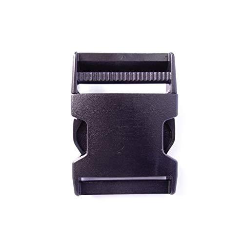 100個セット NIFCO ニフコ SR50 プラスチック バックル 黒 50mm巾用 ベルトの長さ調節などに 100個セット  B07K2745WT