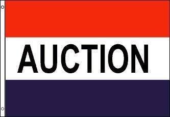 3x5 Foot Message Flag Auction
