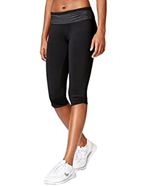 Calvin Klein Performance Capri Leggings Black X-Large