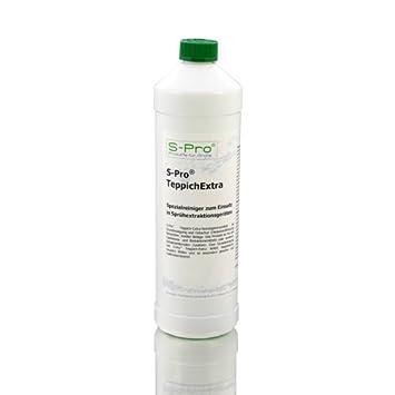 S-Pro TeppichExtra Teppichreiniger und Fleckenentferner - schaumarm ...