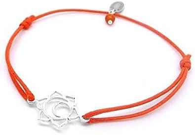 bracelet femme orange