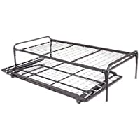 33 Highriser Metal Day Bed (Daybed) Frame & Pop up Trundle 33 Width