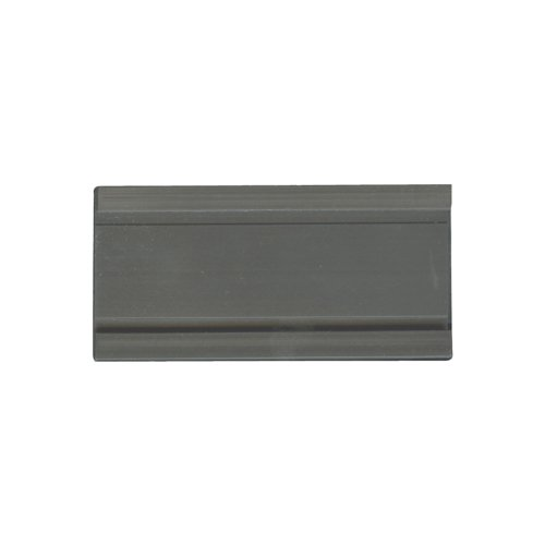 Planning Board Magna Visual - Magna Visual Magnetic Card Holders, 2W x 1H (Inches), Charcoal, 25 per Pack (MCH-1220P)