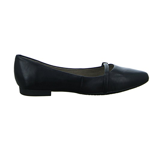 Tamaris 1-24234-28 Damen Ballerinas Black Leather