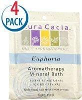 Aura Cacia Aromatherapy Mineral Bath Euphoria -- 2.5 oz Each / Pack of - Aromatherapy Euphoria Bath Mineral