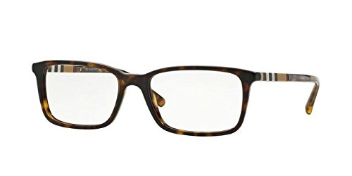 Burberry Men's BE2199 Eyeglasses Dark Havana - Glass Burberry