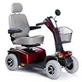 Pride Hurricane PMV Mobility Scooter - Candy Apple Red - A14504 01
