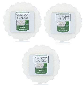 Price comparison product image Yankee Candle 3 White Gardenia Tart Wax Fragrance Melt 0.8 Oz. Air Freshener. Home Fragrance. Home Scent.