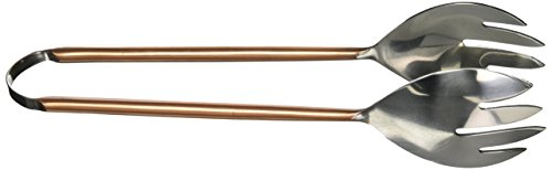Abbott Collection (Abbott Collection Copper Plated Stainless Steel Salad Tongs)