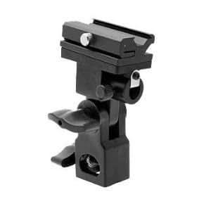KAEZI Off Camera Hot Shoe Flash Swivel Flash Bracket Umbrella Holder Studio Tilting Bracket for Nikon Canon E430 E580 SB600 SB800 SB900