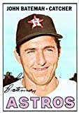 1967 Topps Regular (Baseball) Card# 231 john bateman of the Houston Astros VG Condition