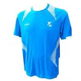 Camiseta drop shot JMD blanca/azul-XL: Amazon.es: Deportes y aire ...
