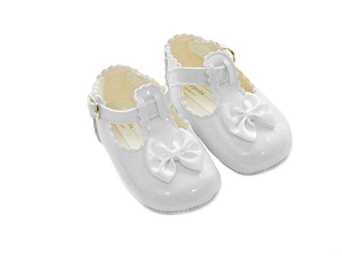 The Gorgeous 1 - Zapatos primeros pasos para niña blanco