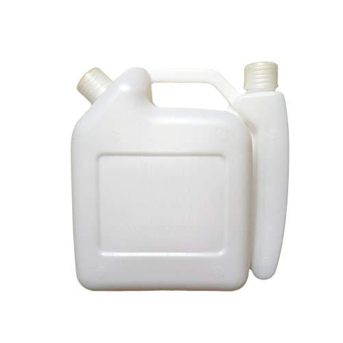 Fuel Oil Storage - Yardwe 1.5L 2-Stroke Fuel Mixing Bottle Fuel Mixing Storage Bottle for Trimmer Chain Saw Oil(White)