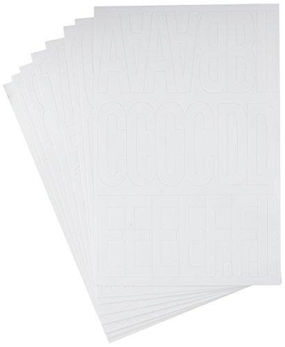 Hy-Ko Products 30015 Self Adhesive Vinyl Die Cut Numbers and Letters 3