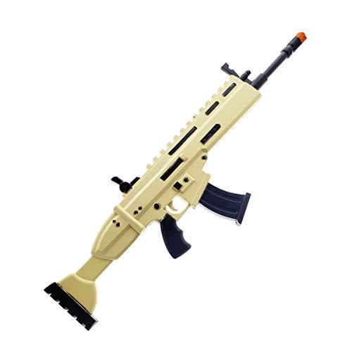 - FN Toy Gun, High Density Foam Gun: Scar Rifle with Silencer Props Replica Yellow