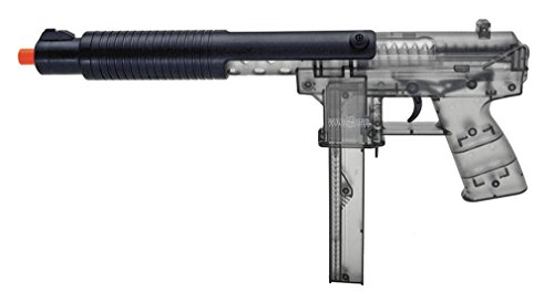 War Inc KG-9 Spring Airsoft SMG - Clear Smoke
