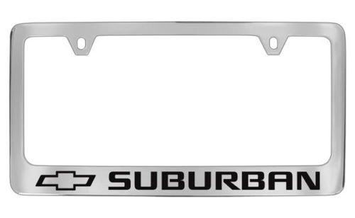 suburban license plate frame - 1