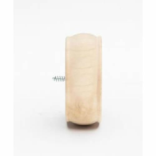 Kirsch Wood Trends Classics End Cap Finial, for 2'' pole, Unfinished (MPN# 46808091) by Kirsch (Image #2)