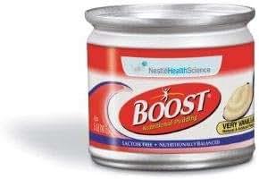 BOOST® Pudding-Flavor Vanilla Calories 240 / 5 fl oz Packaging 5 fl oz Can - Each 1