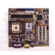 AAEON EMB-845M-A10 Industrial Motherboard, MicroATX Socket 478 Board with 533 FSB, 4X AGP, 3 PCI Slots, 6 USB 2.0, 2 COMs, ATX -