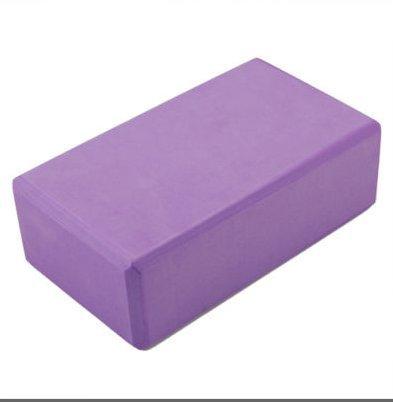 2 pcs purple yoga block brick foaming foam block home for Foam block homes