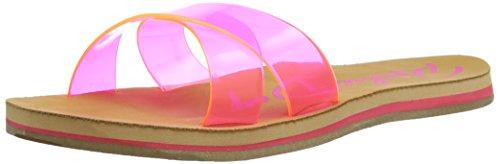 Rocket Dog Pascal - Sandalias de sintético para mujer rosa - Pink (Pvc)