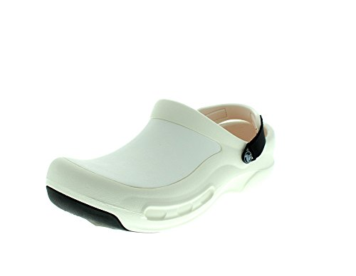 Bistro Crocs Pro 100 White Clog Weiß Zuecos Unisex adulto 616wrTxq
