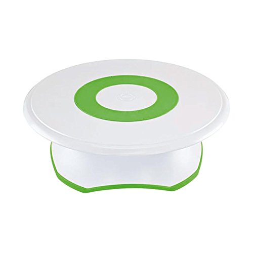 Wilton Trim 'n Turn ULTRA Cake Turntable Rotating Cake Stand, 307-301 Decorating The Table For Christmas