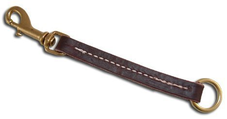 Leerburg Amish Leather Pull Tab, 6  Long 1 2  Wide, Brown by Leerburg ENT