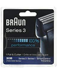 (Braun 30B, 7000FC Syncro series screen foil and cutter blade.)