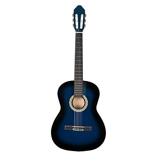 Electric guitar Blue 38 inch Classic Guitar with Bag & Board &Belt & Liquid Crystal Tuner & Strings Set bass guitar