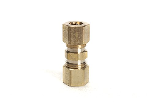 Compression Union,BRASS COMPRESSION FITTING(Pack of 10) ()