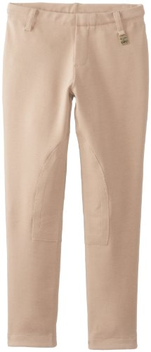 Devon-Aire Kid's Concour Breech, Beige, Medium Devon Aire Pull On Tights