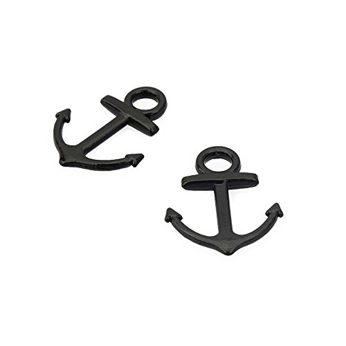 Anchor Leather Bracelet Connector Symbol product image