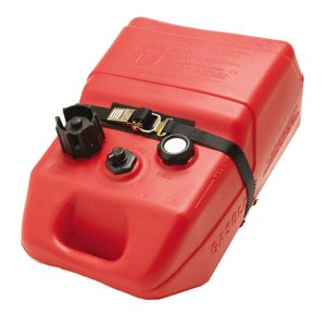 BoatBuckle Kwik-Lok Gas Tank Battery Box with Tie-Down Strap, 1-Inch x 4-Feet