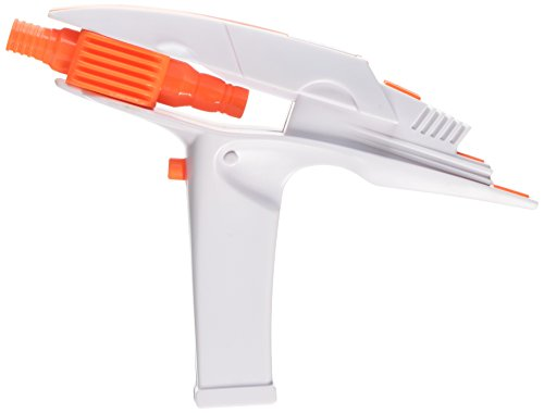 [Rubie's Costume Star Trek Into The Darkness Phaser Gun, White/Orange, One Size] (Festival Costume For Men)