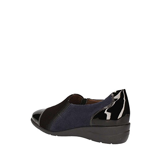 Black Flat Melluso Women K90549 Loafer Rq66Hcw4C