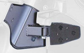 RAMPAGE PRODUCTS 8691 Black Mirror Relocation Bracket for 1997-2002 Jeep Wrangler TJ - Pair