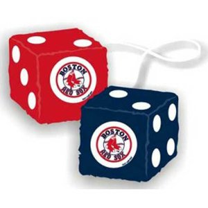 - Casey 2324568002 Boston Red Sox Fuzzy Dice