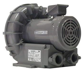 Fuji Electric - VFZ501A-7W - 2.90 Regenerative Blower 3 Phase, 230/460 Voltage, 1-1/2 (F)NPT Inlet Size