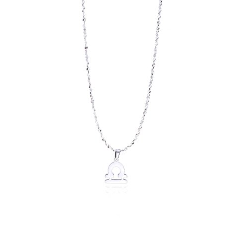 - Anlive Libra Zodiac Necklace Star Sign Astrology Necklace Birthday Gift for Her (Libra)