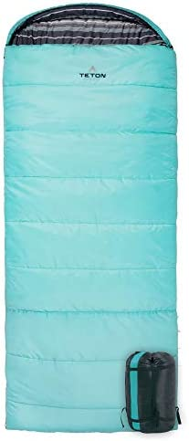 TETON Sports Celsius Regular Sleeping Bag Great for Family Camping Free Compression Sack