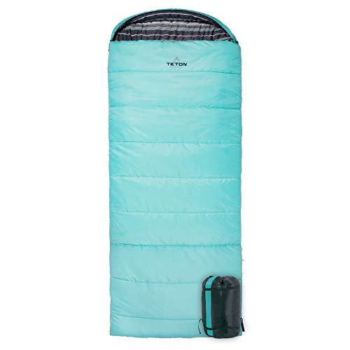 TETON Sports Celsius Regular Sleeping Bag; Great for Family Camping